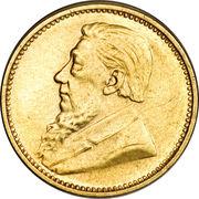 3 Pence (Zuid Afrikaansche Republiek ; Essai) – avers