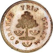 1 Penny (État libre d'Orange) – avers