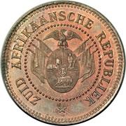 1 Penny (Zuid Afrikaansche Republiek ; Essai du Transvaal) – avers