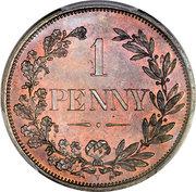 1 Penny (État libre d'Orange) – revers