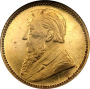 6 Pence (Zuid Afrikaansche Republiek ; Essai) – avers