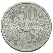 50 Haléřů (Essai) – revers