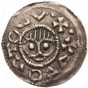 Obol - Boleslaus II the Pious (duke 967-999) – avers