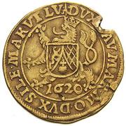 1 Ducat - Friedrich of Pfalz – revers