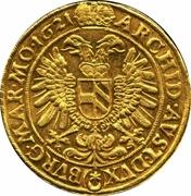 10 ducats Ferdinand II (Prague) – revers