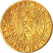 10 ducat Ferdinand III – revers