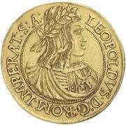 10 Ducat - Leopold I – avers