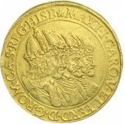 15 ducat Matthias II (Prague) – avers