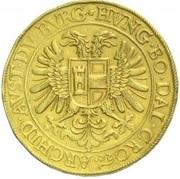 15 ducat Matthias II (Prague) – revers