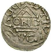 obole - Boleslaus II the Pious (duke 967-999) – revers