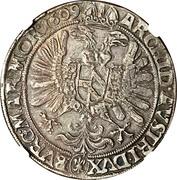 1 thaler Rudolf II (Kuttenberg) -  revers