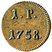 1 pfennig Francois I (Prague) – revers