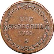 1 gröschl Josef II (Vienne) – revers