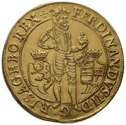 10 Ducat - Ferdinand II (Prague) – avers