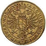 10 Ducat - Ferdinand II (Prague) – revers