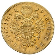 1 Ducat - Josef II (Prague) – revers