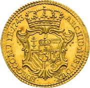 1 Ducat - Maria Theresia (Prague) – revers
