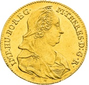 1 Ducat - Maria Theresia (Prague) – avers
