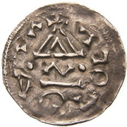Obol - Boleslaus II the Pious (duke 967-999) – revers