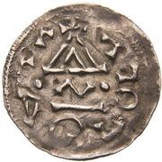 Obol - Boleslaus II the Pious (duke 967-999) – revers