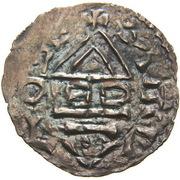 denier Boleslaus I the Cruel (duke 935–967/972) – revers