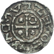 denier Boleslaus I  le Cruel (duc 935–967/972) – avers
