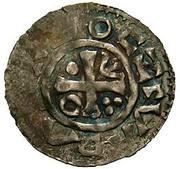 Denar - Boleslaus I the Cruel (duke 935–967/972) – avers