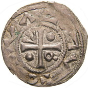 Denar - Boleslaus II the Pious (duke 967-999) – revers