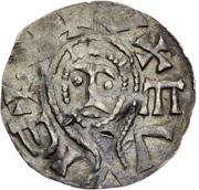 Denar - Boleslaus II the Pious (duke 967-999) – avers
