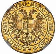 5 Ducat - Matthias II (Prague) – revers
