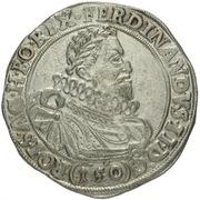 1 Thaler - 150 Kipper Kreuzer - Ferdinand II (Joachimsthal) – avers