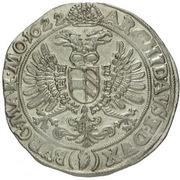 1 Thaler - 150 Kipper Kreuzer - Ferdinand II (Joachimsthal) – revers