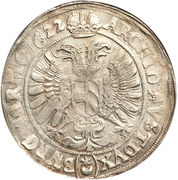 1 thaler - 150 kipper kreuzer Ferdinand II (Prague) – revers