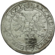½ Thaler - 60 Kipper Kreuzer - Ferdinand II (Olmutz) – revers