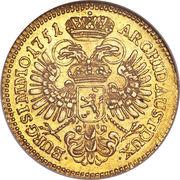 1 ducat Marie Thérèse (Prague) – revers