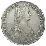 1 Thaler - Maria Theresia (Prague) – avers