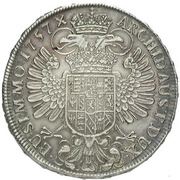 1 Thaler - Maria Theresia (Prague) – revers