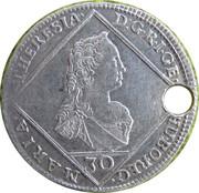 30 Kreuzer (Maria Theresa - Prague Mint) – avers