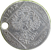 30 Kreuzer (Maria Theresa - Prague Mint) – revers