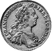 7 kreuzer Francois I (Prague) – avers