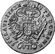 7 kreuzer Francois I (Prague) – revers