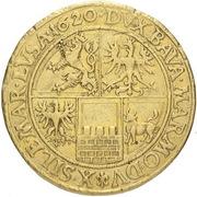 10 Ducat - Friedrich (Prague) – revers