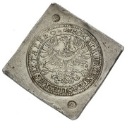 6 Thaler - Silesian Estates (Siege issue; Glogau mint) – avers