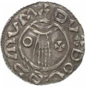 Denar - Boleslaus II the Pious (duke 967-999) -  avers