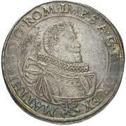 1 Thaler - Matthias II (Prague) -  avers