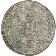 1 Thaler - Matthias II (Prague) -  revers