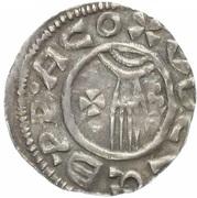 Denar - Boleslaus II the Pious (duke 967-999) -  revers