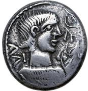 Hexadrachm (Evorix Type) – avers