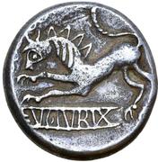Hexadrachm (Evorix Type) – revers