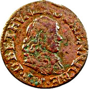 Double-Tournois Maximilien III (Type 4) – avers